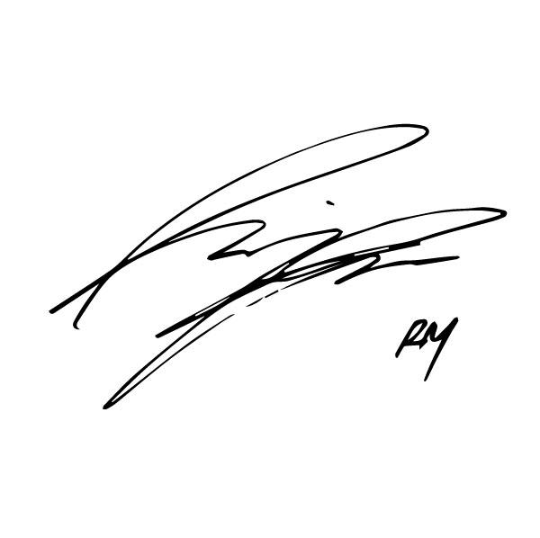 Автограф Намджуна