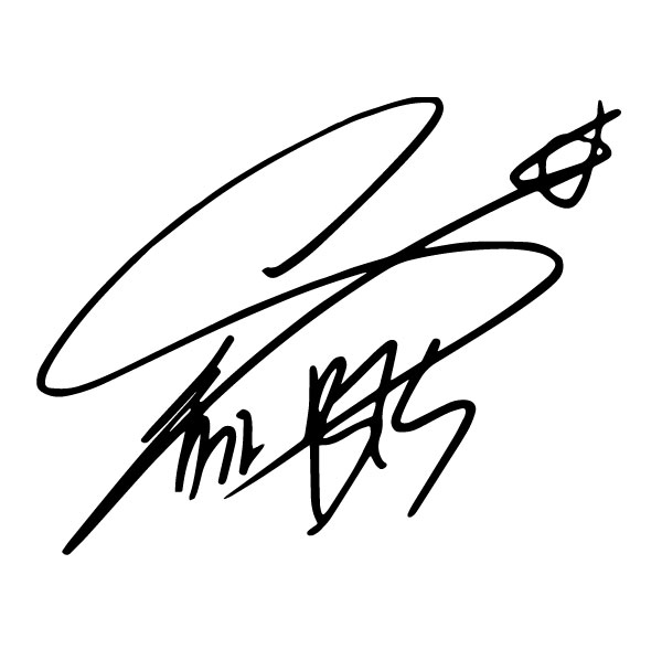Подпись бтс
