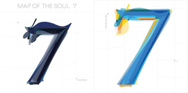 Две обложки Map of the seoul