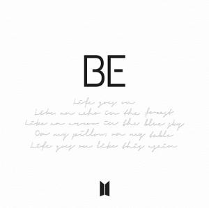 Обложка BTS - BE